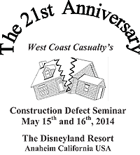 Construction Defect Seminar 2014